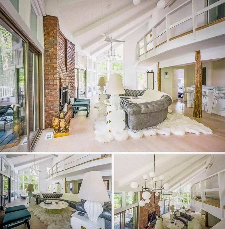 Creatively designed living space