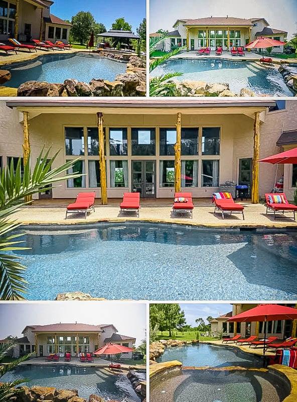 A beautiful mansion rental near Houston, Texas.