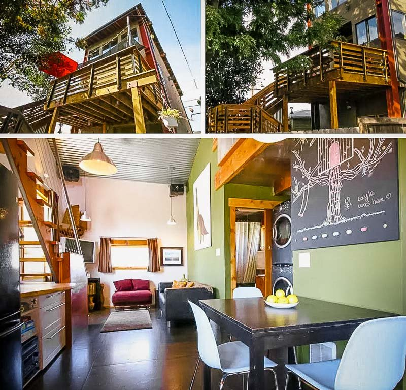A top treehouse rental in San Diego, California