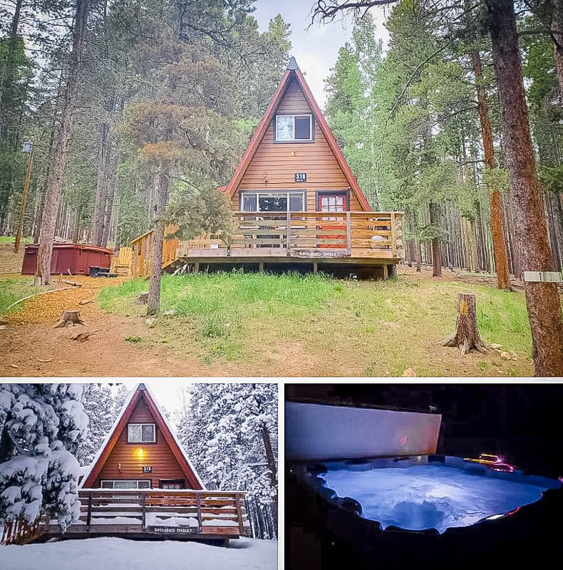 This Colorado A-Frame cabin is among the best monthly rentals in America