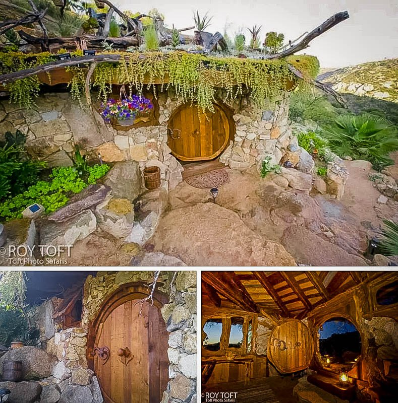 One of the most beautiful hobbit house Airbnbs in the US