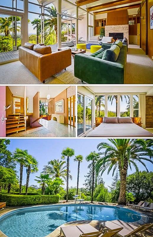 Lavish décor and spacious pool area.