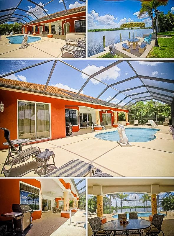 A beautiful villa for long-term rent in Florida.