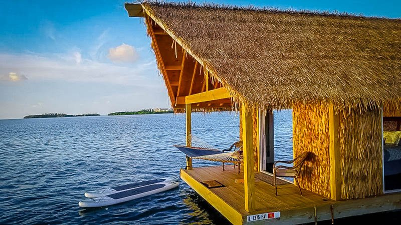 A houseboat rental in southern Florida