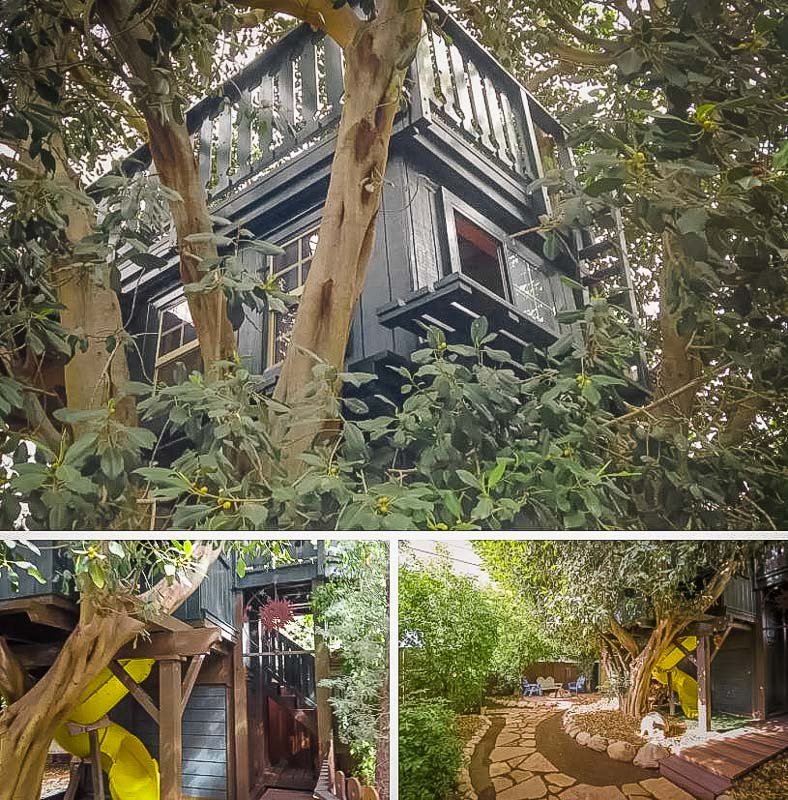 It doesn't get any more magical than this Airbnb treehouse near Disneyland in California.