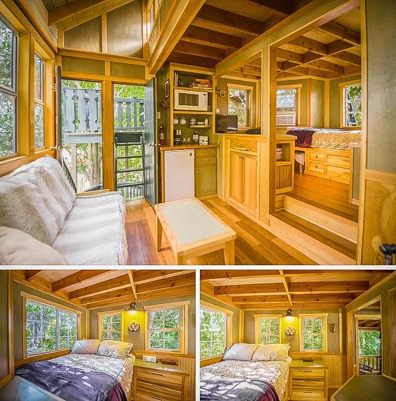 Stunning interior living space