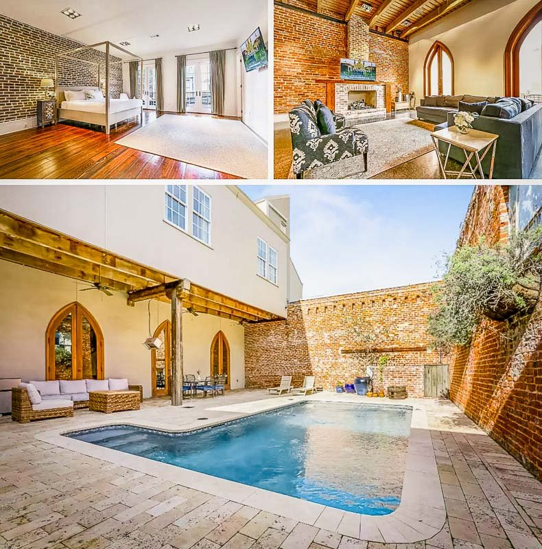 House for rent in New Orleans with its own pool