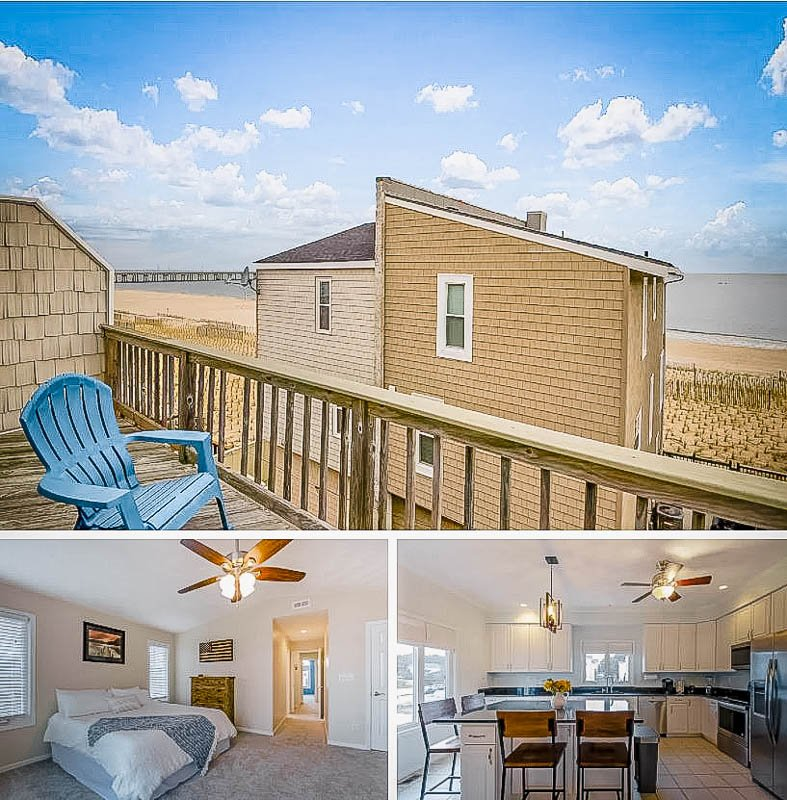 Beautiful beach house rental on Virginia Beach