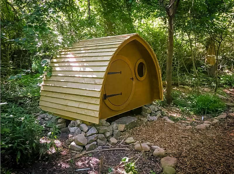 This Atlanta hobbit house rental is mainly for kids and small families