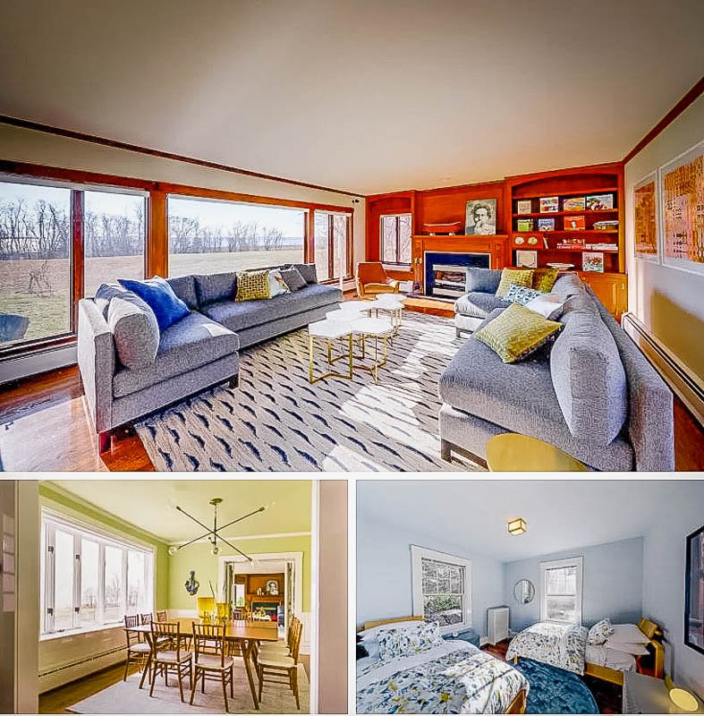 Colorful-themed rooms