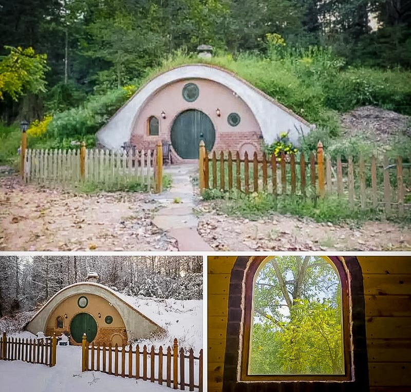 A beautiful underground home for rent in VA