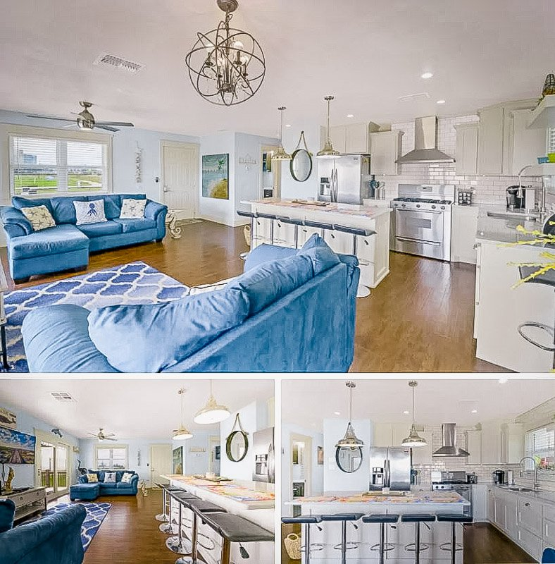 Elegant interior living space.