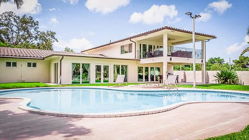 Fort Lauderdale mansion for rent