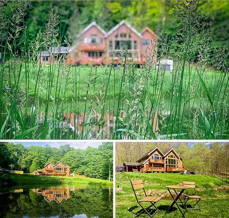 A long term chalet rental in Upstate New York.