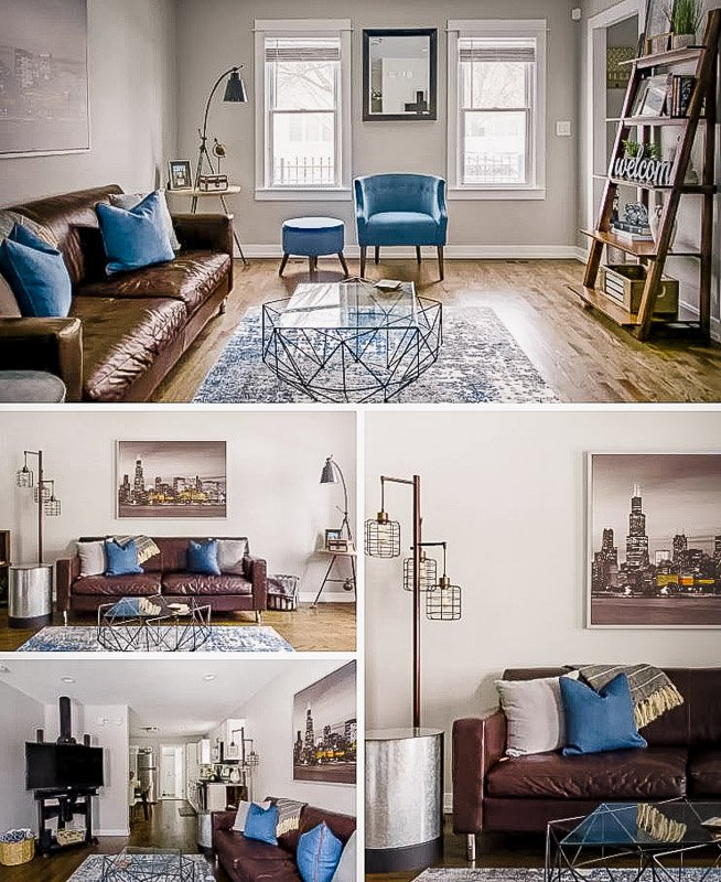 This is one of the best long term apartment rentals in Chicago, Illinois.