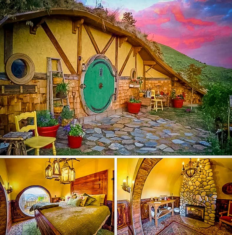 A hobbit house like no other.