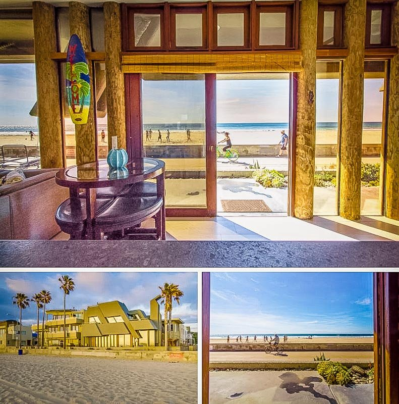 San Diego beach house rental