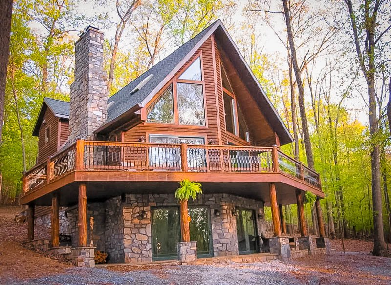 Unique luxury cabin for rent in Maryland