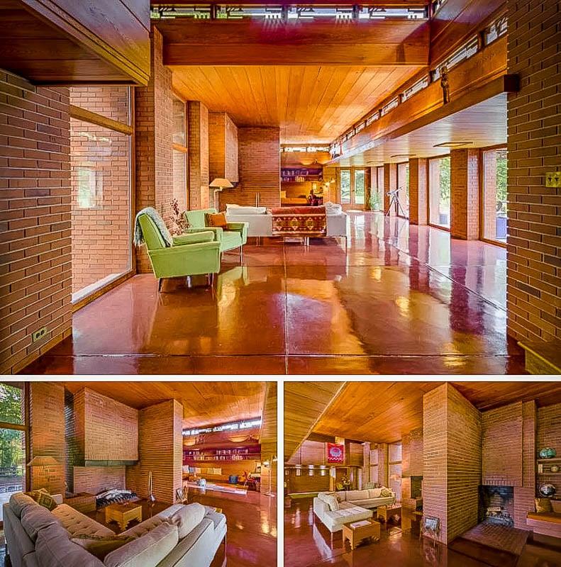 Futuristic designs in a historic dream home