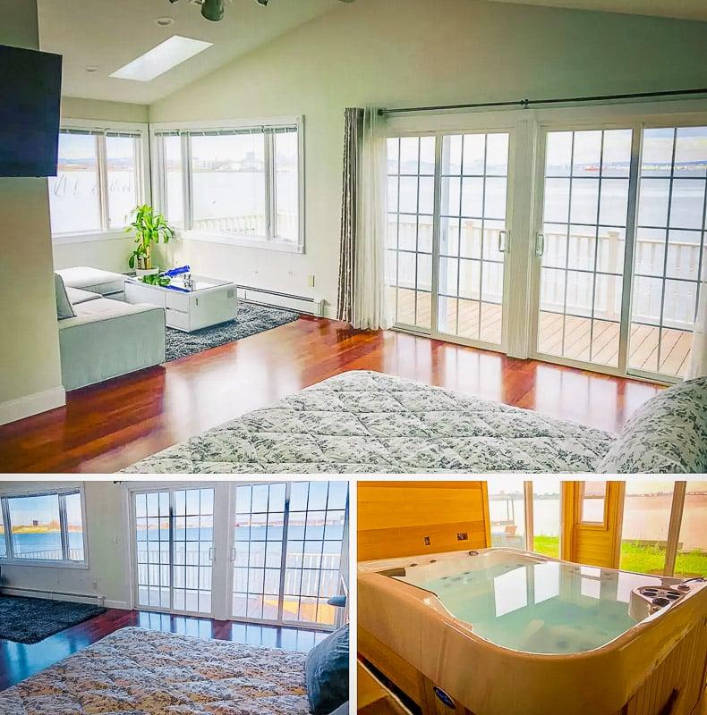 A popular beach house rental in CT