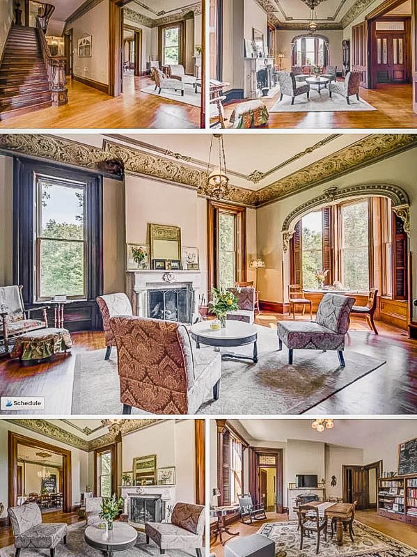 Exquisite interior designs and layout