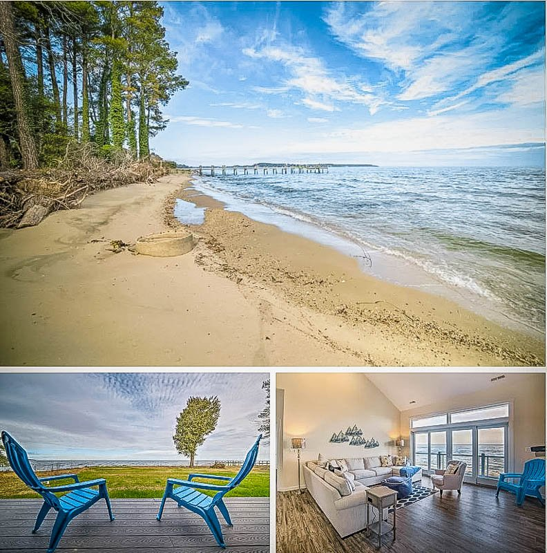 This Maryland beach house is among the best Airbnb beachfront homes in the US.