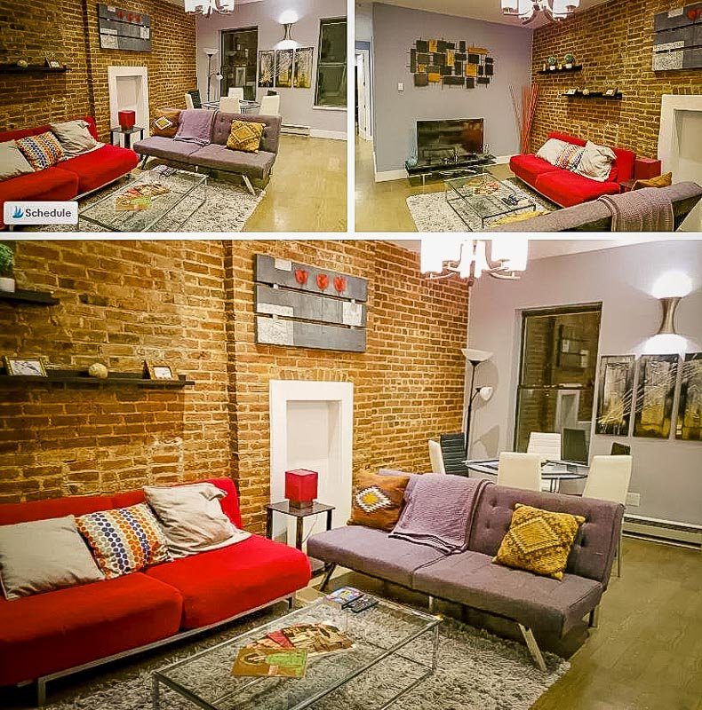 One of the coolest long term Airbnbs in NYC