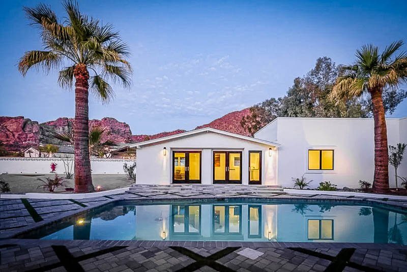 A top Airbnb mansion in Arizona