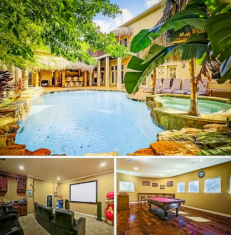 An extravagant long term Airbnb rental in Houston, Texas