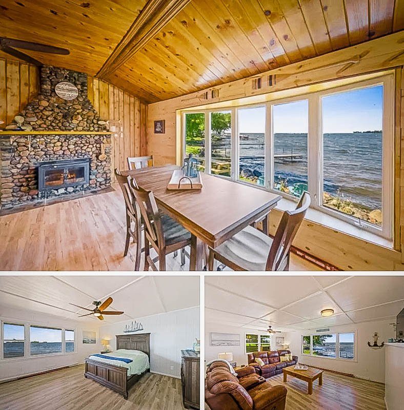 This beach house in Minnesota is among the coolest long term Airbnbs.