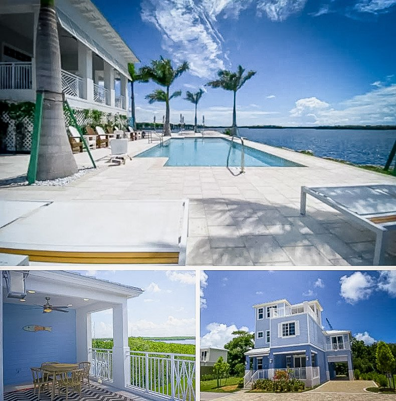 A beachfront house Airbnb in the Florida Keys