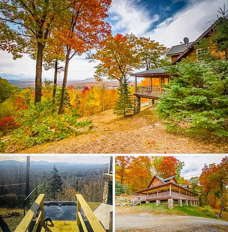 A unique Airbnb amid New Hampshire's White Mountains
