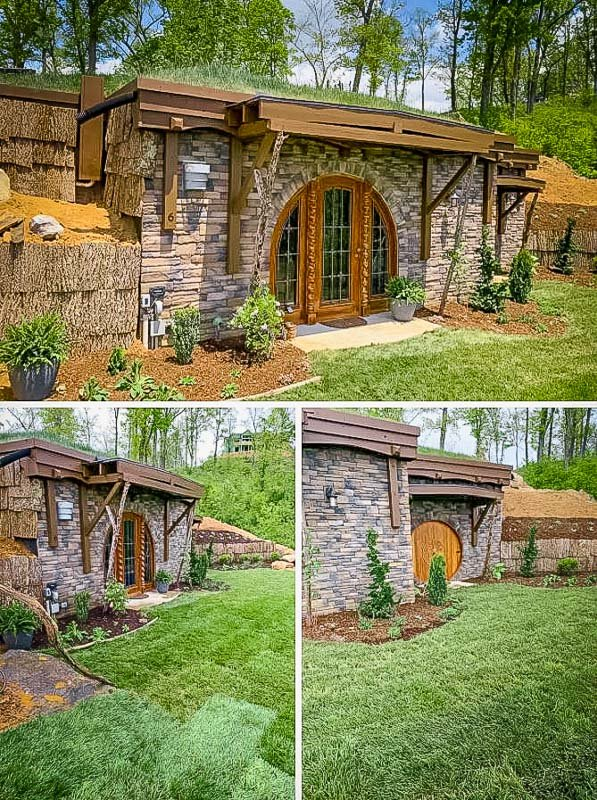 This Asheville hobbit house is among the most unique Airbnbs imaginable