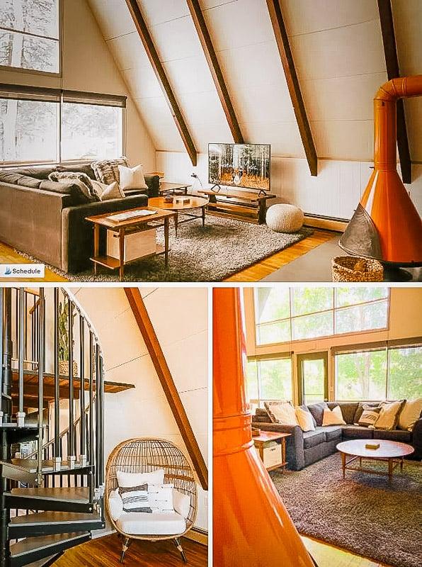 Trendy interior décor