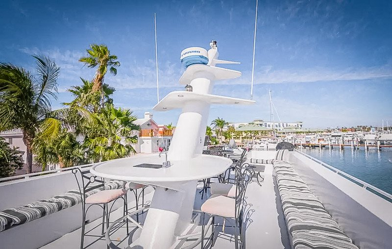 One of the best Airbnbs on a boat in the US
