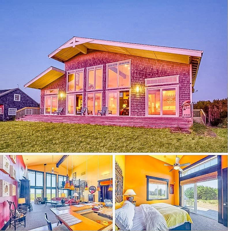 One of the most spectacular Airbnbs on the beach in the Pacific Northwest
