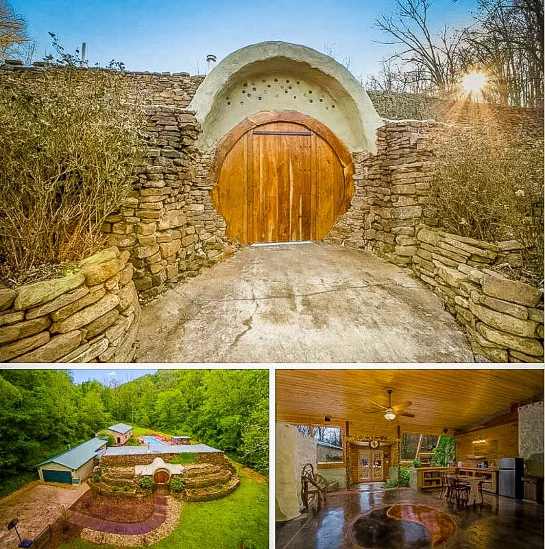 This earth house Airbnb is unlike any other hobbit hole in the South
