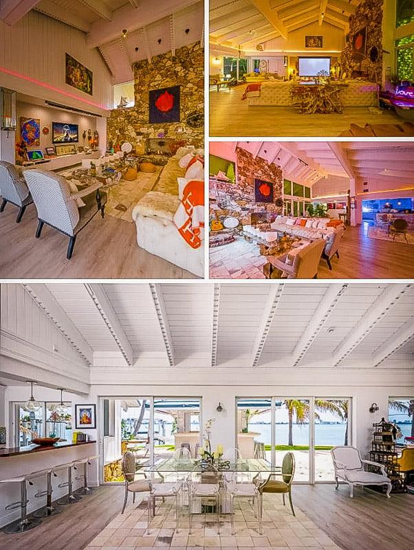 Stylish interior living space