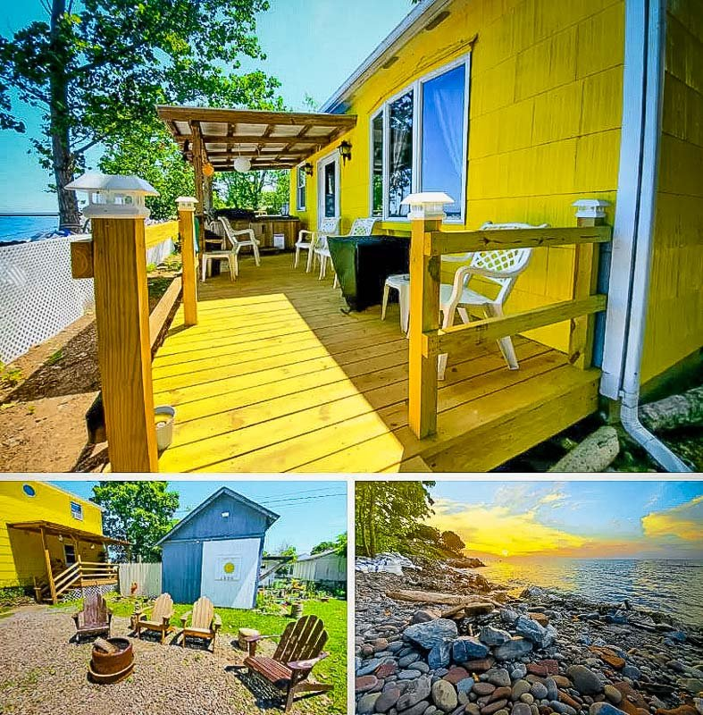 Waterfront vacation rental in New York