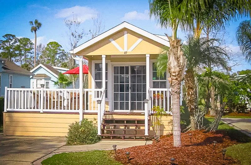 A tiny house Airbnb for a long term stay in Florida
