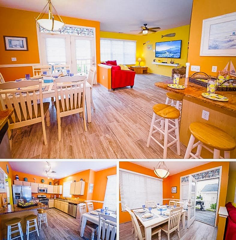 A vibrant beach house Airbnb in New Jersey