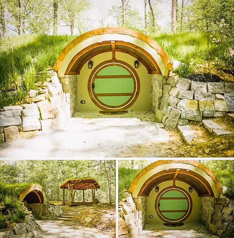 One of the coolest hobbit house Airbnbs in Tennessee
