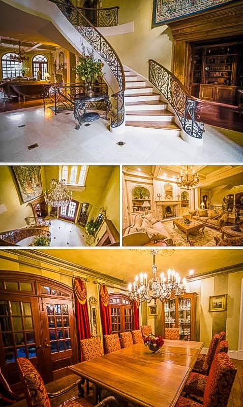 Beautiful interior decoration and furniture.