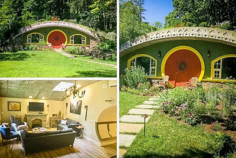 A hobbit house to rent in New York.