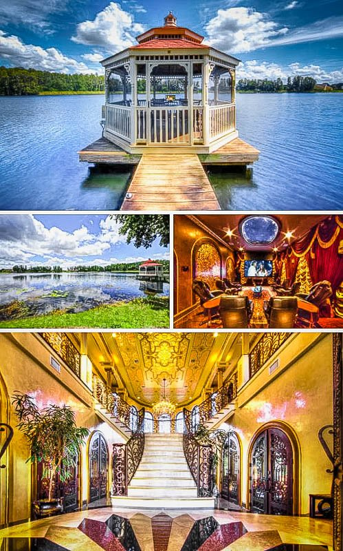 Florida Airbnb mansion rental with a view