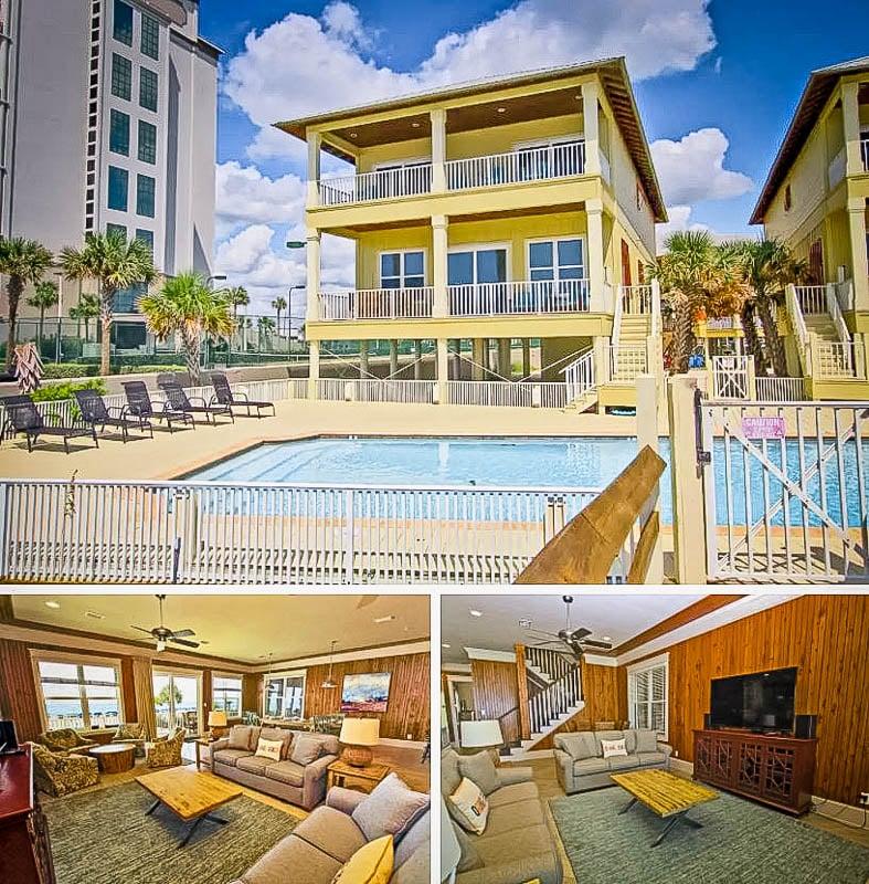 Gulf shores Airbnb beach house rental