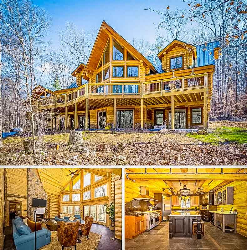 Eco cabin rental in Maryland.