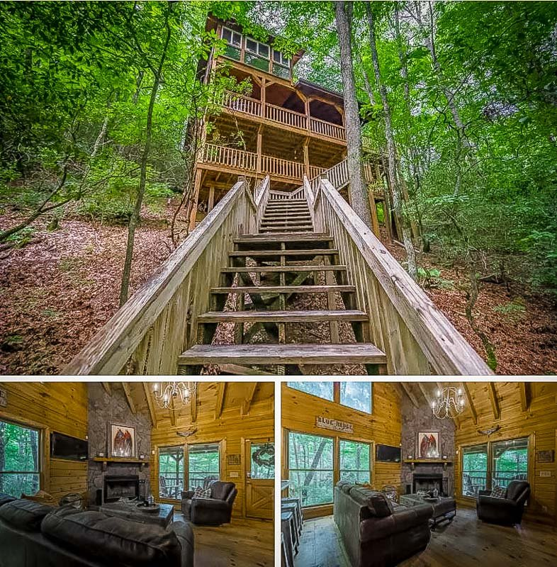 A long term cabin rental with lots of charm.