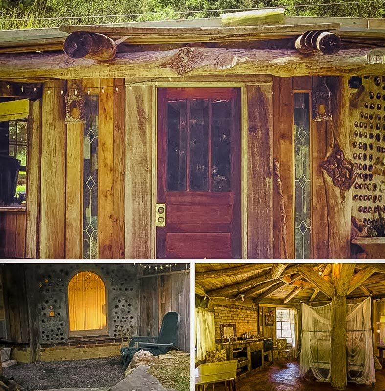 An Earth house Airbnb for rent in Alabama