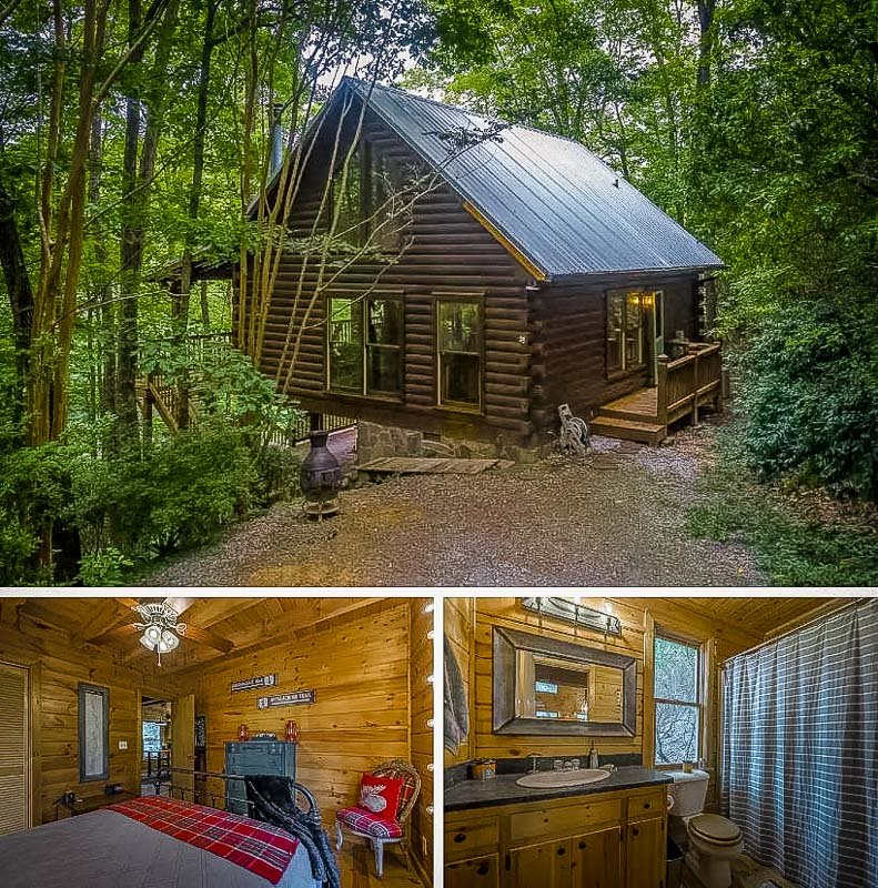 Georgia cabin rental for a long term stay.